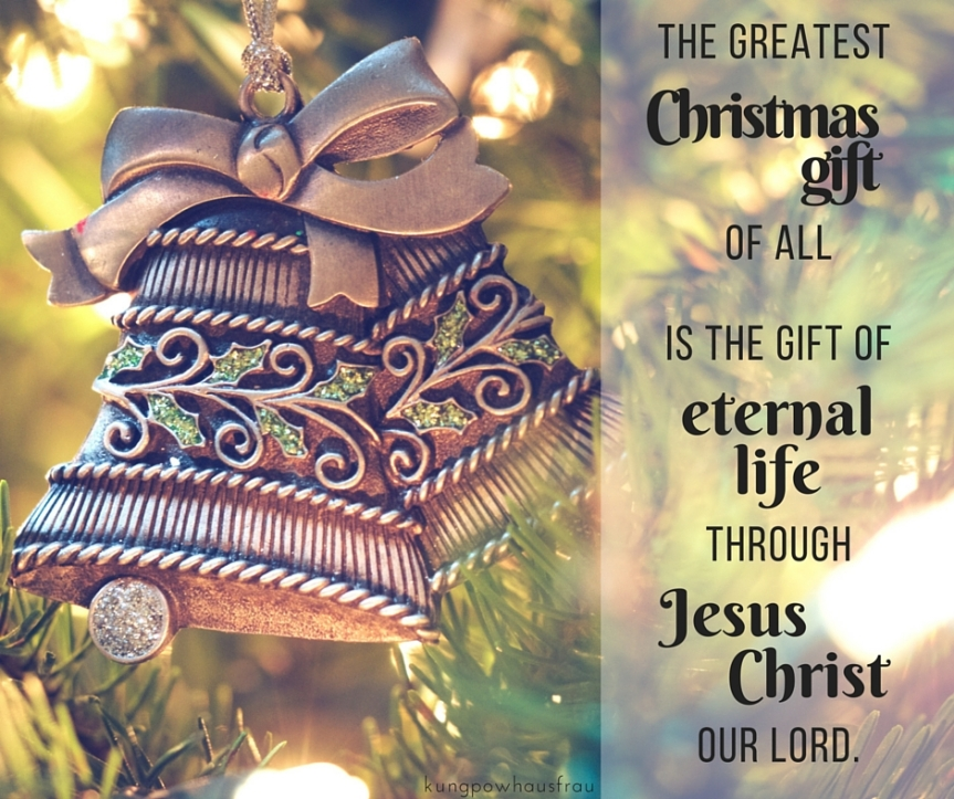 greatest christmas gift eternal life jesus